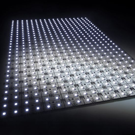 Nichia LED Backlight Module Matrix Mini 126 segments (9x14) 504 LEDs 24V White 6500K 60.5W 9840lm