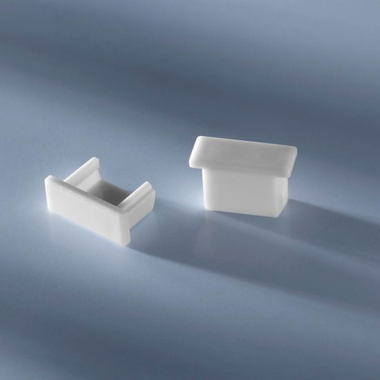 Closed end cap for Aluflex Aluminum Profile low height 1020mm
