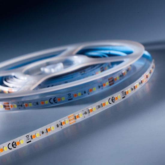 LumiFlex700 Performer Nichia LED Strip TW 2000-6500K 6980lm 24V 140 LEDs/m 5m roll (874+1396lm/m and 9.6W/m)