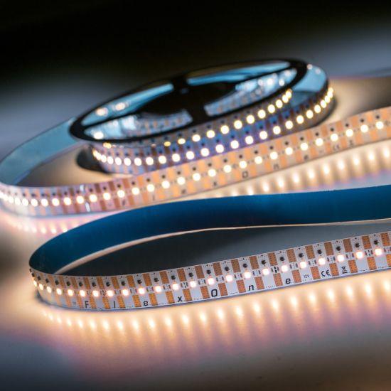 FlexOne500 Performer Samsung LED Strip warm white 2700K 17450lm 12V 100 LEDs/m 5m roll (3490lm/m and 42W/m)