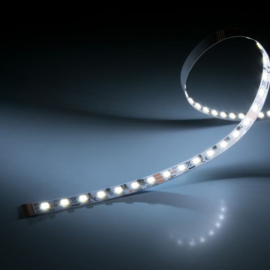 LumiFlex560 PRO Nichia LED Strip 2 in 1 TW 2700-6500K 4450lm 24V 112 LEDs/m 5m roll (830+890lm/m and 7.68W/m)