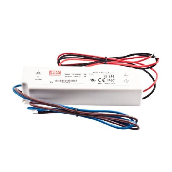 Mean Well LED Power Supply 24V 1.5A 36W IP67 LPV-35-24
