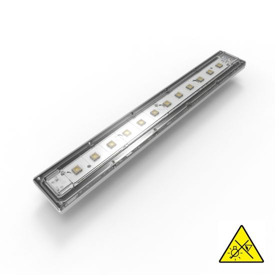 Violet UVC Seoul Viosys LED Module 275nm 12 LEDs 192mW 29cm 600mA for disinfection