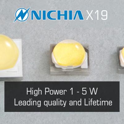 Nichia x19 LEDs