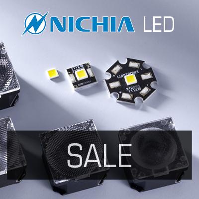 SALE ON NICHIA LEDS