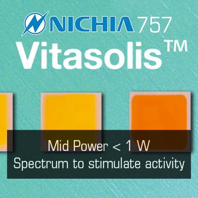 Nichia Vitasolis LEDs