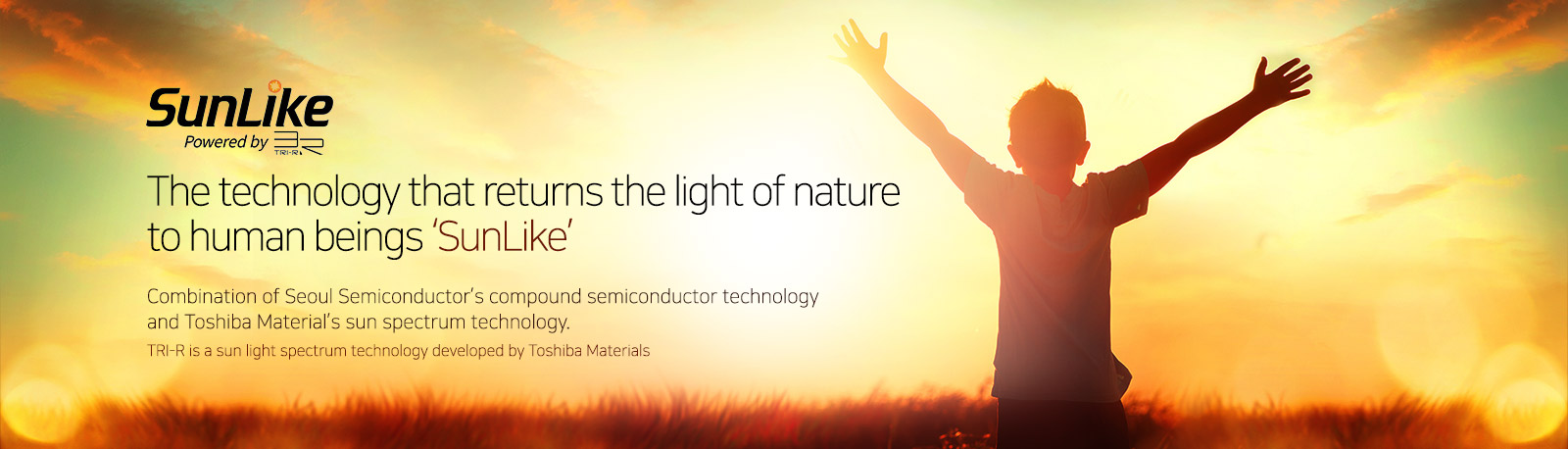 SunLike LED techology from Seoul Semiconductor and Toshiba