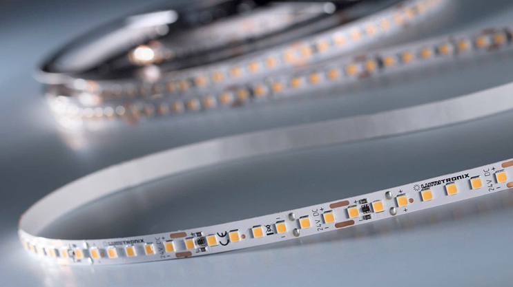 SunLike LED strips with CRI97  and light output up to 1800 lm / m