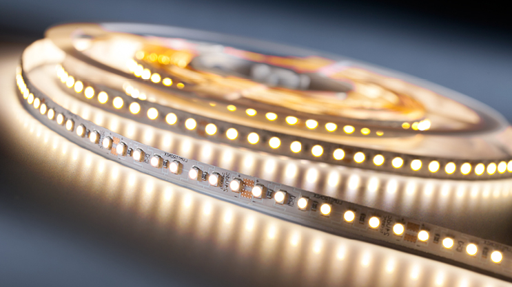Professional LED strips with Nichia LEDs