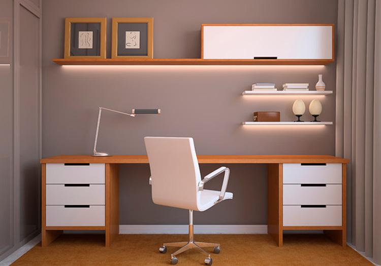 LED strip lighting for home office