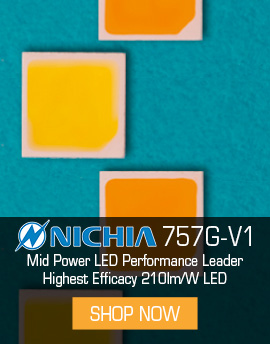 Nichia 757G-V1 has the highest performance on the market.