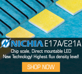 A new technology, Flip Chip LEDs from Nichia