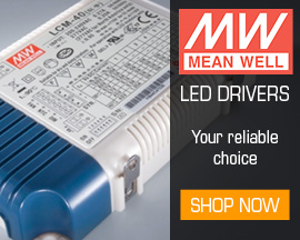 Mean Well, your first choice for LED Drivers.