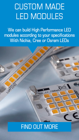 We can build custom LED Modules according to your specifications