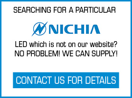 If a LED is on the Nichia website, we can supply it!