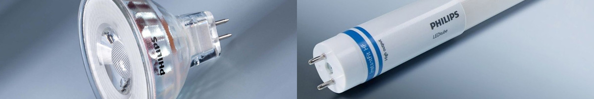 LED spots and Tubes from Philips, Osram and more
