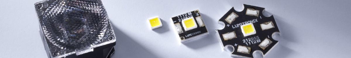 High Power Nichia, Cree, Osram LEDs