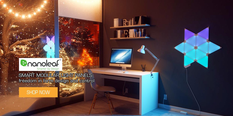 Modular smart LED panels